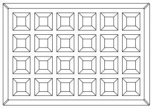 Plan gaufrier ref.52126